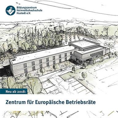 Faltblatt zum Zentrum für Europäische Betriebsräte