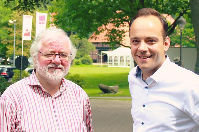 Harald Kolbe und Maximilian Schmidt (v.l.)