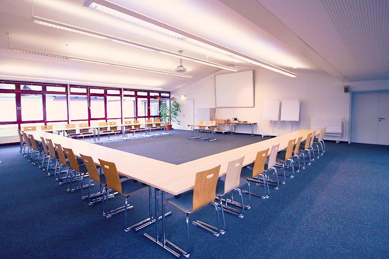 Ansicht eines Seminarraumes