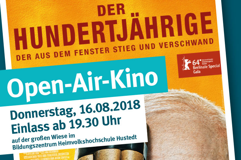 Voransicht des Plakats zum Open-Air-Kino