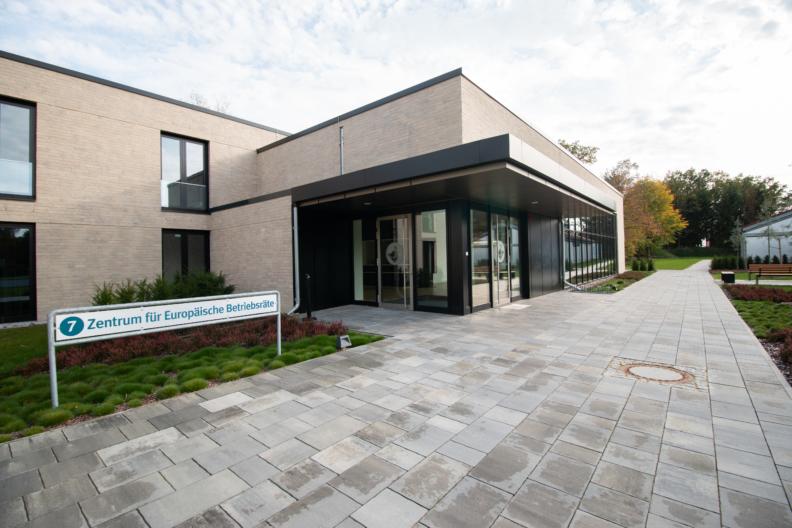 Eingang Zentrum für Europäische Betriebsräte
